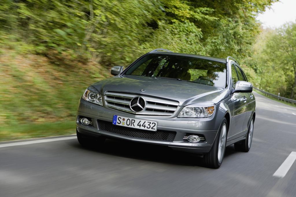 Die Mercedes C-Klasse setzt auf einen großen Gepäckraum