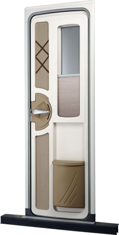 Dometic entwickelt neue Eingangstür für Caravans.