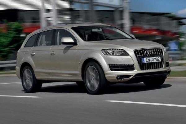 Einstiegs-Audi Q7 - ein Diesel