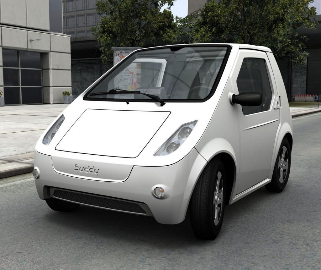 Elektroauto Buddy: Ein Querparker für Querdenker