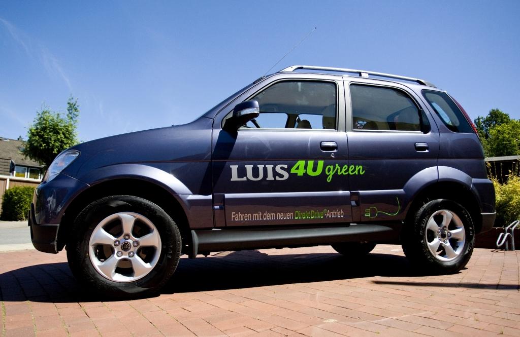 Elektroauto Luis 4U Green ab sofort bestellbar