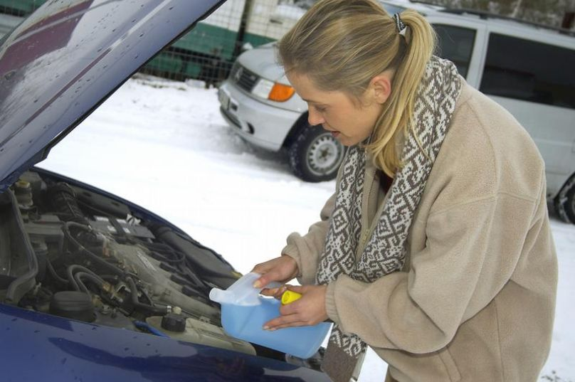 Erneuern des Kühlmittels schützt vor Frost, Rost und Überhitzung