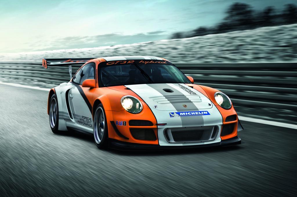 Für die Straße kein Thema - Porsche KERS-Hybrid - Bild