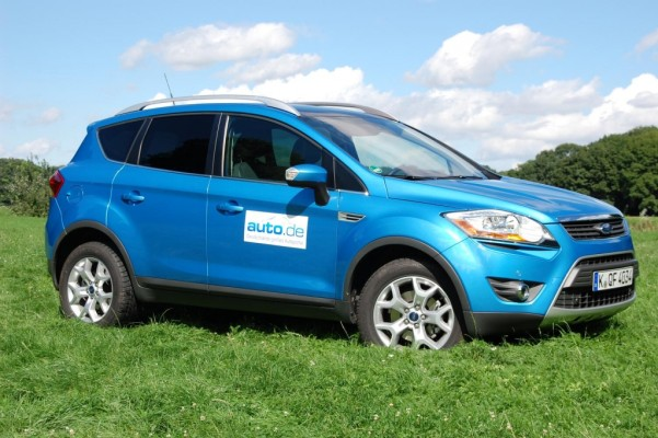 Fahrbericht Ford Kuga 2.0 TDCi 4x4 Titanium: Dynamik über das Design hinaus