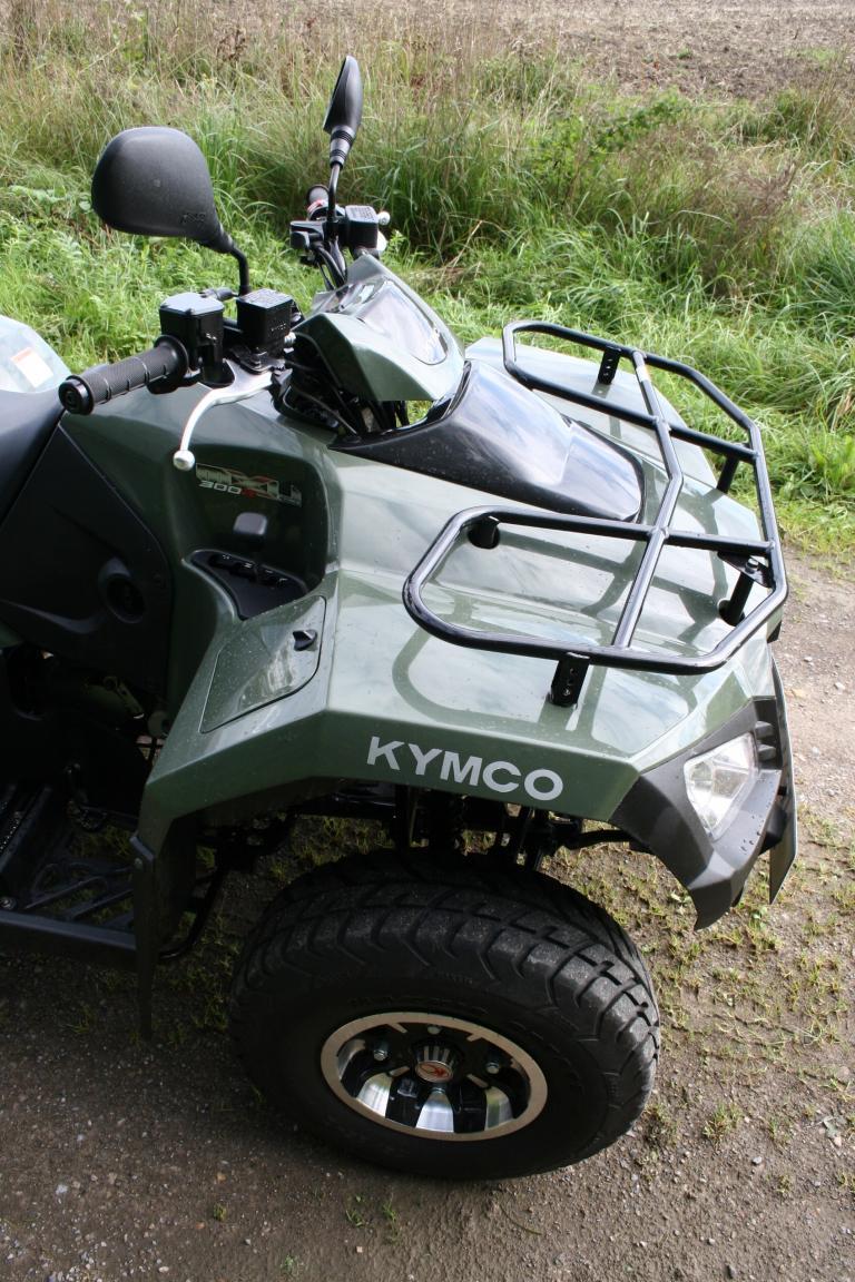 Fahrbericht Kymco MXU 300 R: Für viele Fälle gerüstet