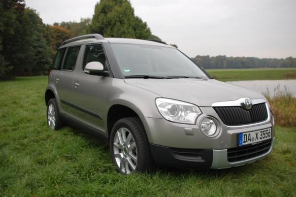 Fahrbericht Škoda Yeti 2.0 TDI CR 4x4 Ambition: VW Tiguan-Rivale von Format