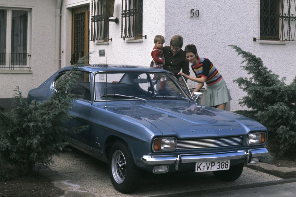 Ford Capri 2000 GT, 1969