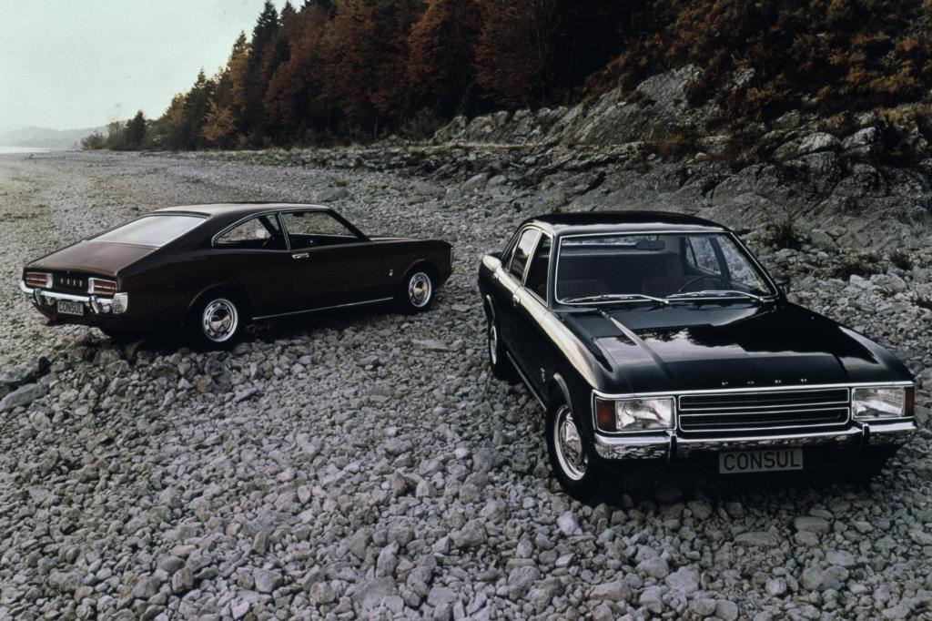 Ford Consul, 1972