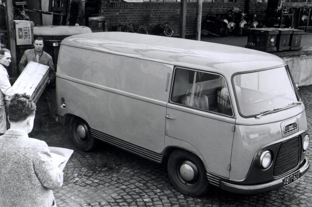 Ford FK 1000, 1953