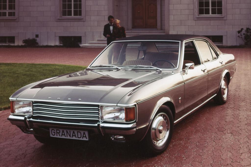 Ford Granada, 1972