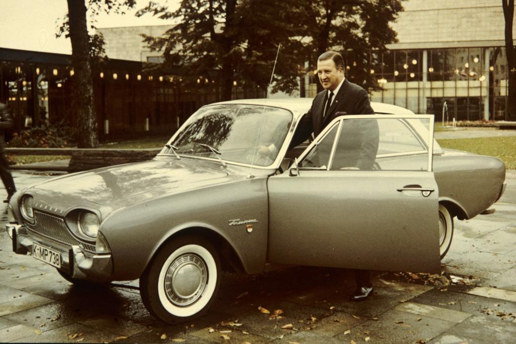 Ford Taunus 17M P3 Badewanne, 1960