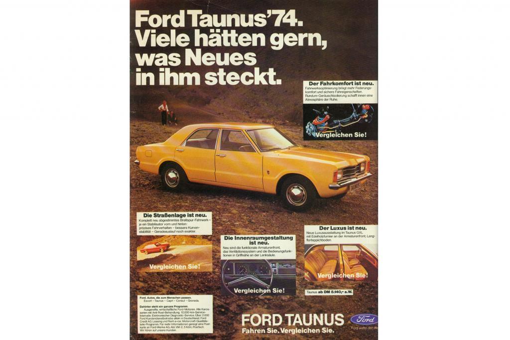 Ford Taunus, 1975