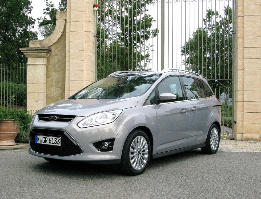 Ford aktuell: Die Grand-C-Max-Variante ist komplett neu im Programm.