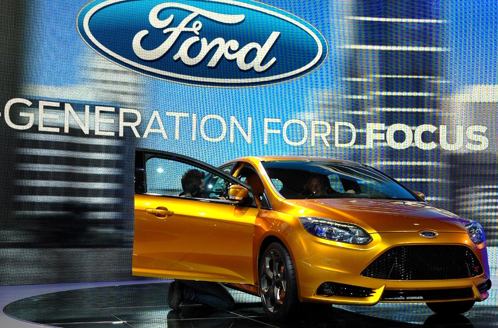 Ford aktuell: So sieht der neue Focus ST aus.