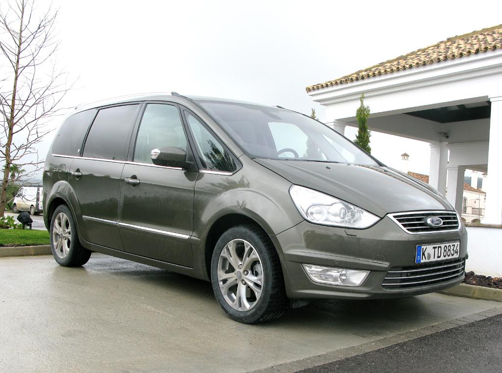 Ford aktuell: So sieht die Neuauflage der Großraum-Limousine Galaxy aus.