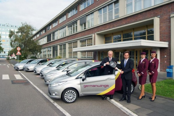 Ford und Germanwings kooperieren