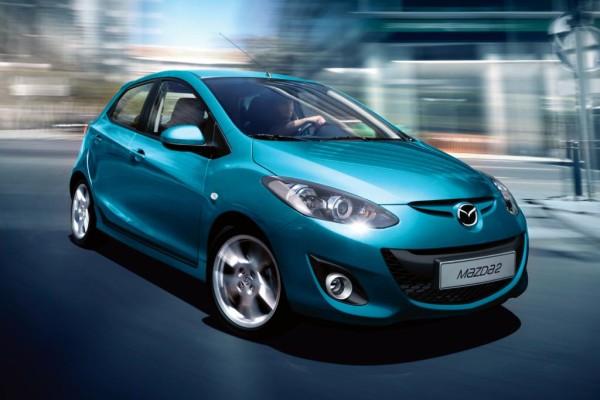 Gelifteter Mazda2 - Kleinwagen zum Sparpreis