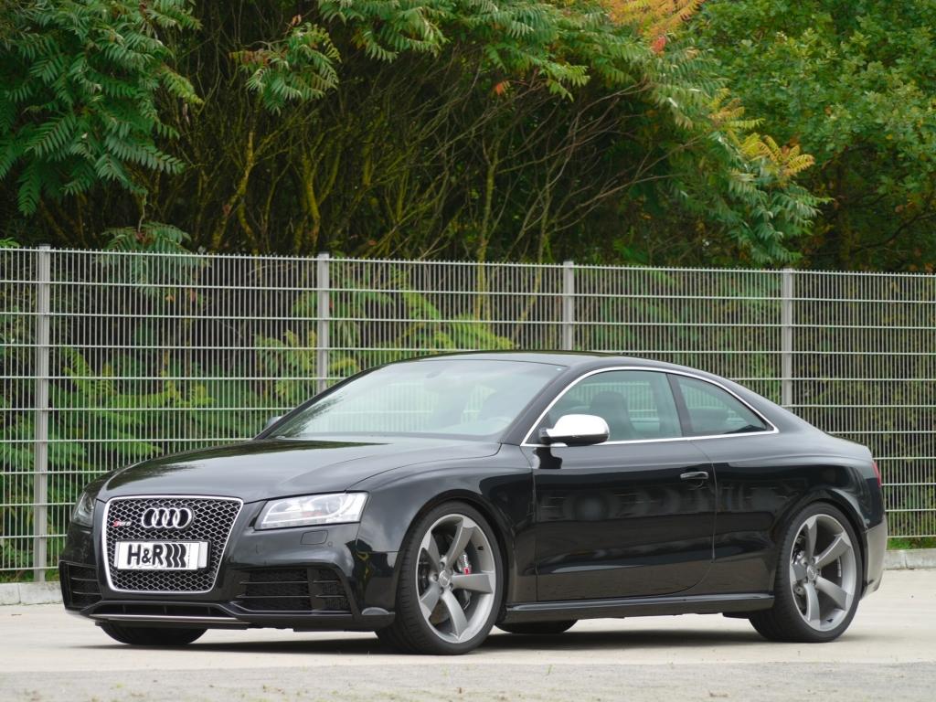 H&R Audi RS5: Dynamisches Power-Coupé