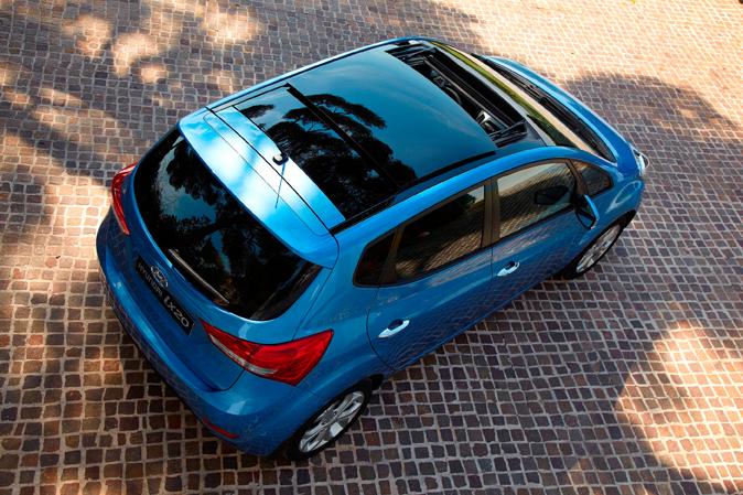 Hyundais Matrix-Nachfolger ist der ix20.