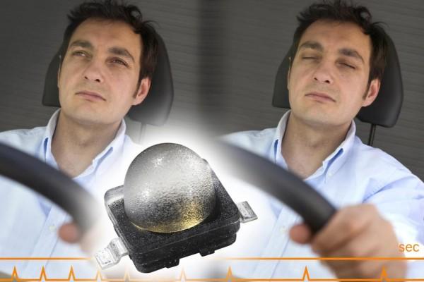 Infrarot-Kamera erkennt Sekundenschlaf