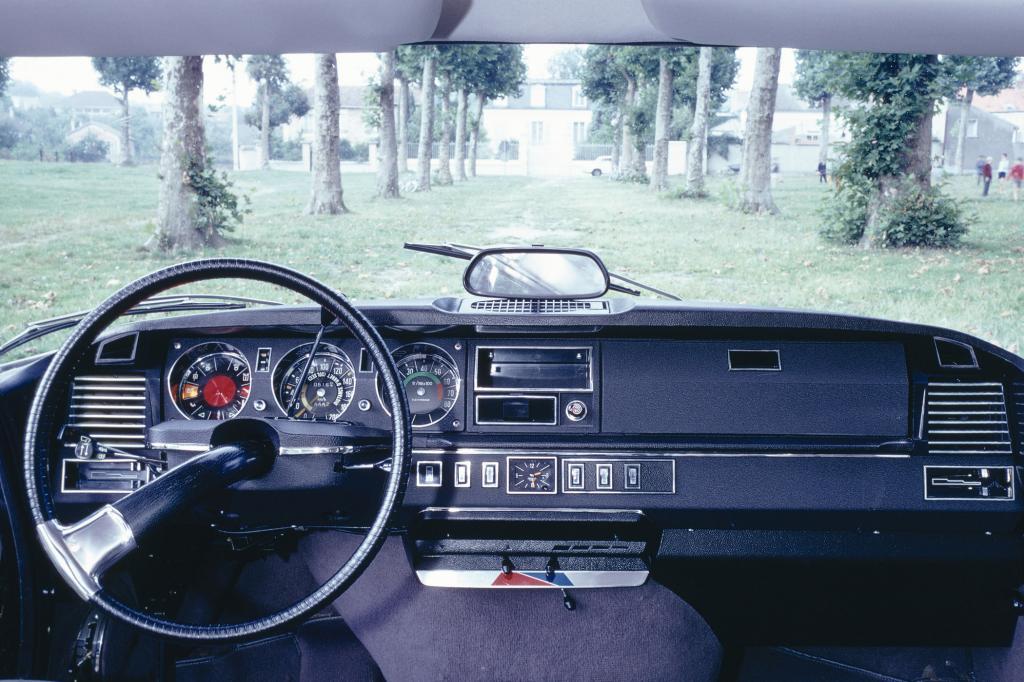 Innenraum Citroen DS 21 von 1970