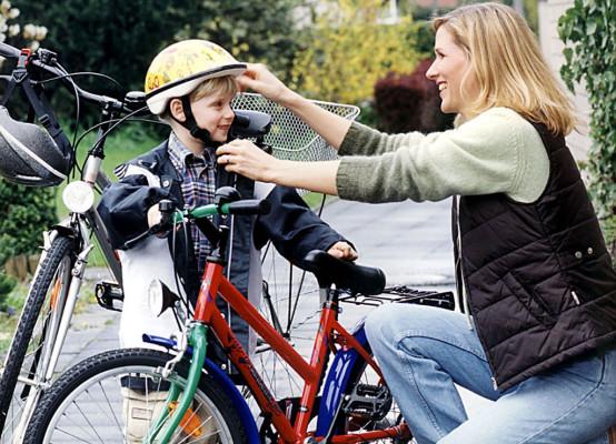 Kinder: Verletzungen durch Stürze auf Fahrradlenker
