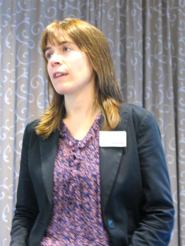 Marketingleiterin Juliette Ribbert von Michelin in Deutschland.