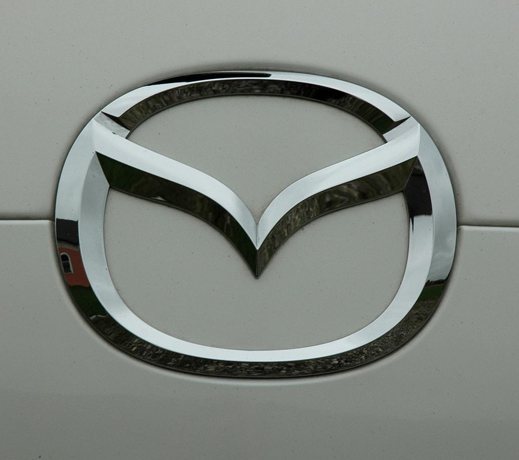 Mazda5: Das Markenlogo ziert auch die Heckklappe.