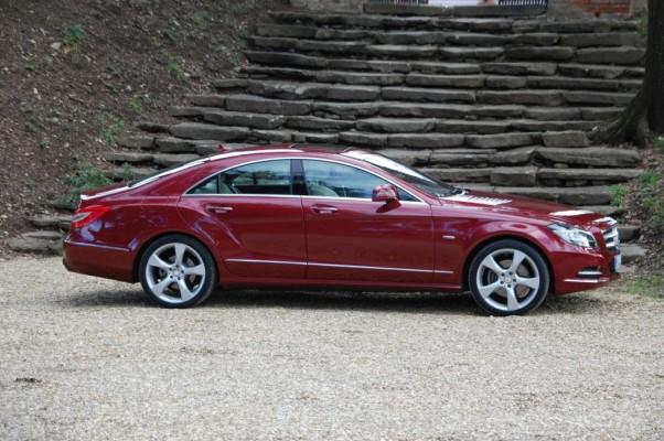 Mehr Emotion, mehr Dynamik, mehr Design - Erstkontakt Mercedes Benz CLS