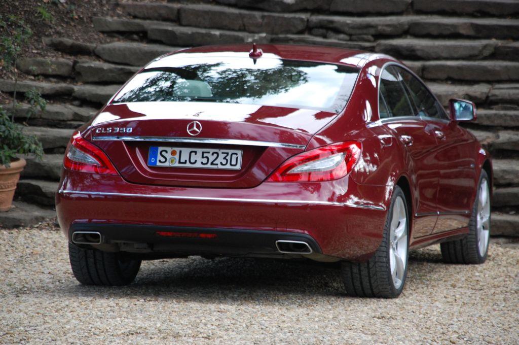 Mehr Emotion, mehr Dynamik, mehr Design - die neue Generation des Mercedes Benz CLS