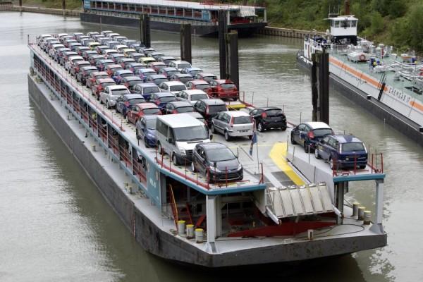 Mehr Güterbeförderung per Schiff