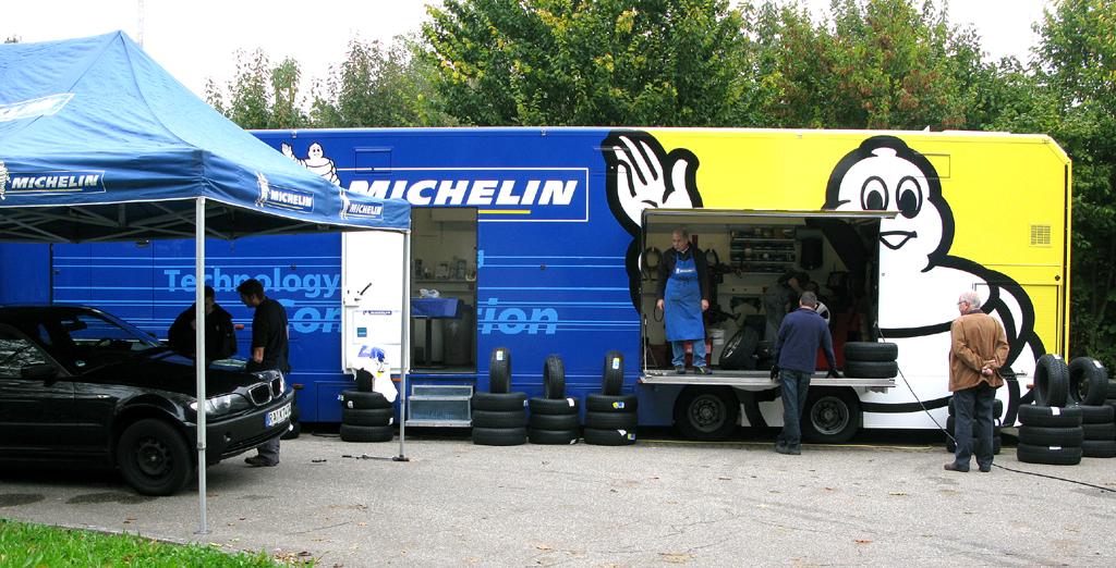 Michelin-Umrüsttruck.