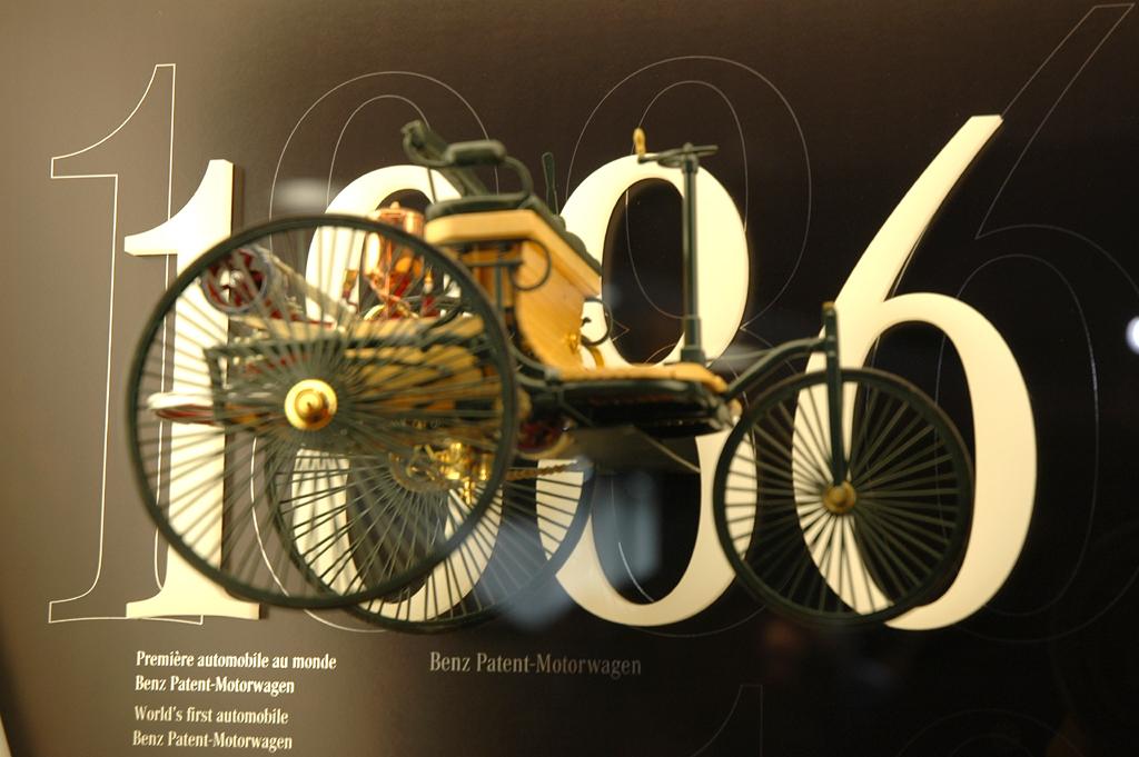 Mit dem dreirädrigen Benz-Patent-Motorwagen fingen 1886 125 Jahre Automobilgeschichte an.