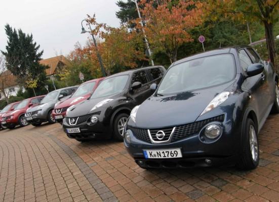Nissan Juke rundet Crossover Modellreihe nach unten ab – Nissan Murano erstmals mit Diesel verfügbar