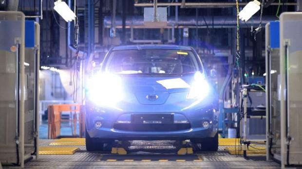 Nissan Leaf Produktion gestartet