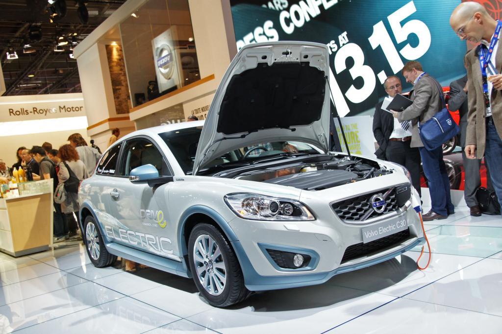 Noch in der Entwicklung ist der Volvo C30 electric