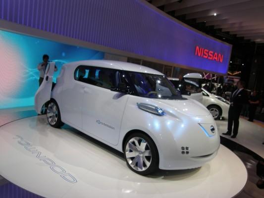 Paris 2010: Nissan Townpod - Japanische Stromer die Zweite