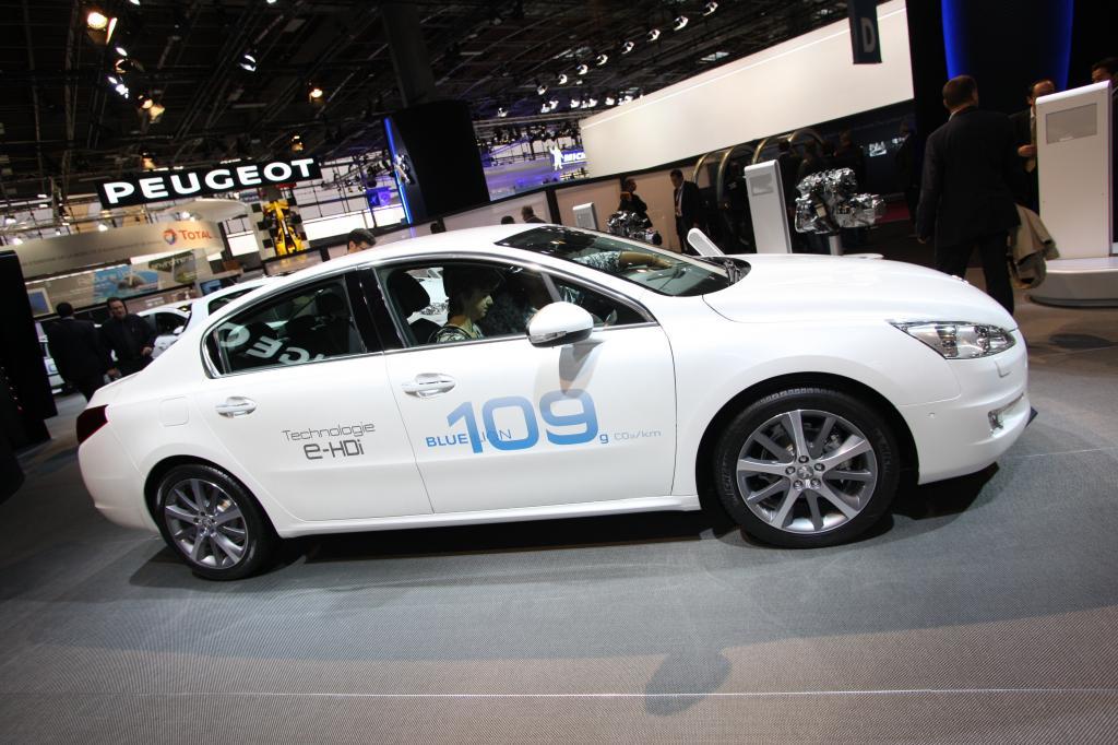 Paris 2010: Peugeot 508 kostet ab 23 050 Euro