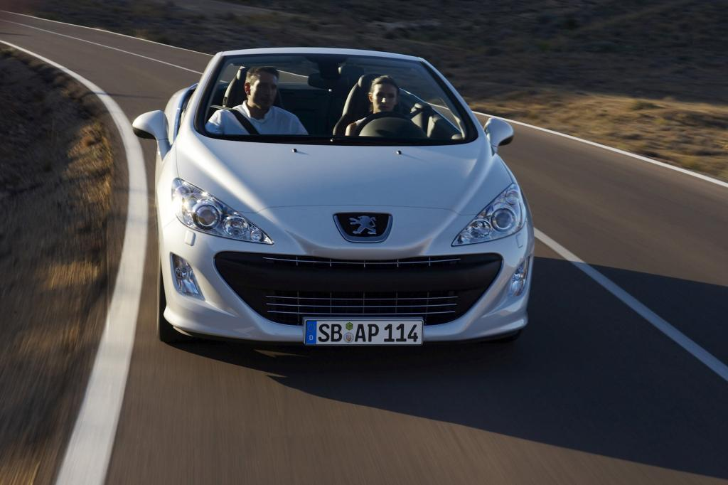 Peugeot  380 CC - Mit neuem Top-Motor