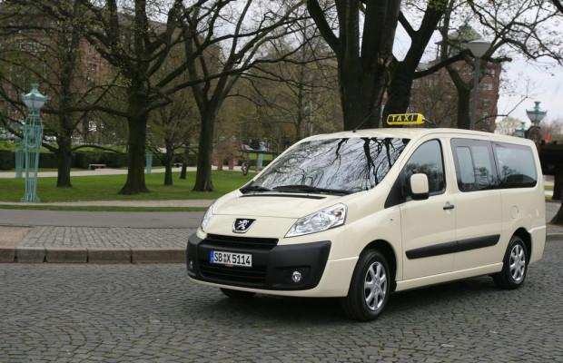 Peugeot geht mit drei Modellen auf die Taximesse