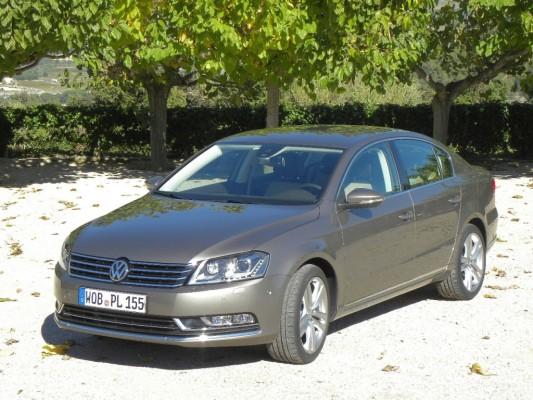Pressepräsentation Volkswagen Passat: Anschluss nach oben