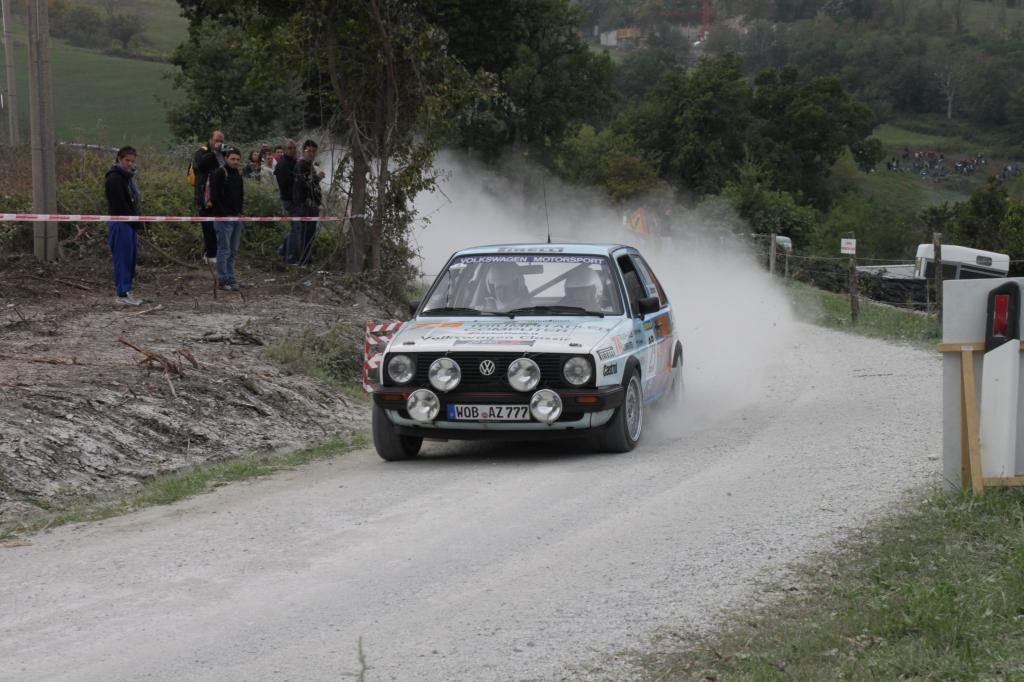 Rallye Legend in San Marino.