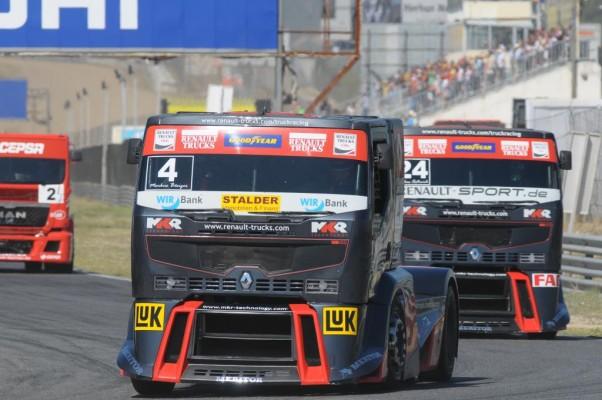 Renault Trucks ist Europameister der Teamwertung