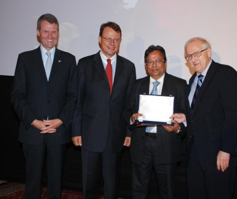 Schaeffler erhält AHK-Auszeichnung in Indien