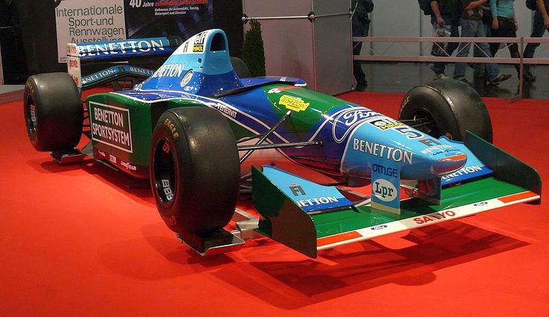 Schumis Weltmeister-Rennwagen von 1994