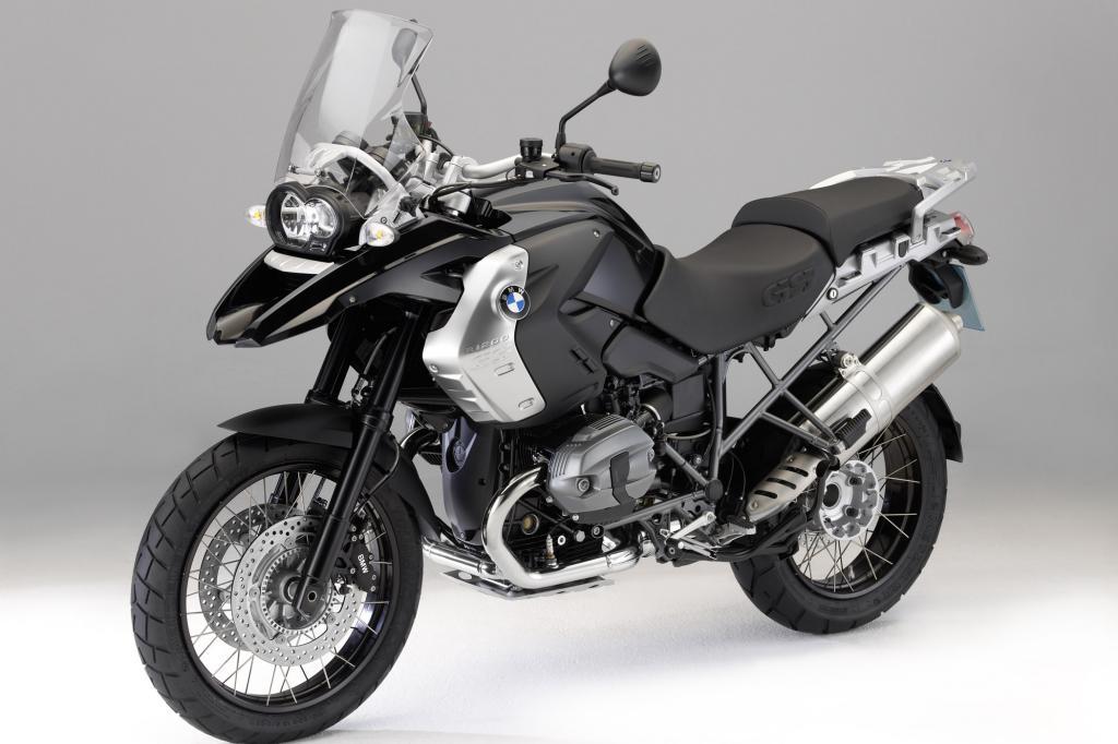 Schwarz gemacht, die BMW R1200 GS Triple Black