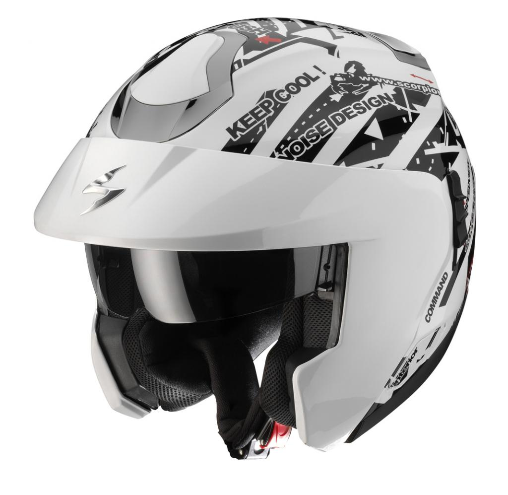 Scorpion Exo-900 Signal in Weiß.