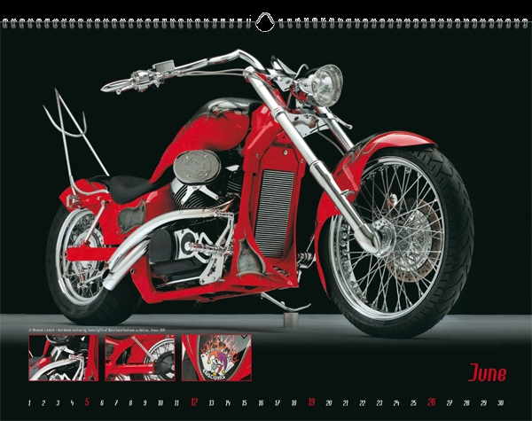 Seit 1977 fotografiert Lichter Motorräder