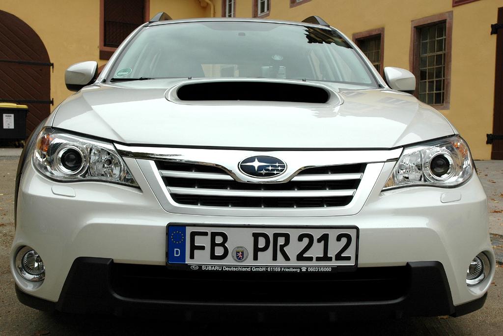 Subaru Impreza XV: Blick auf die Frontpartie.