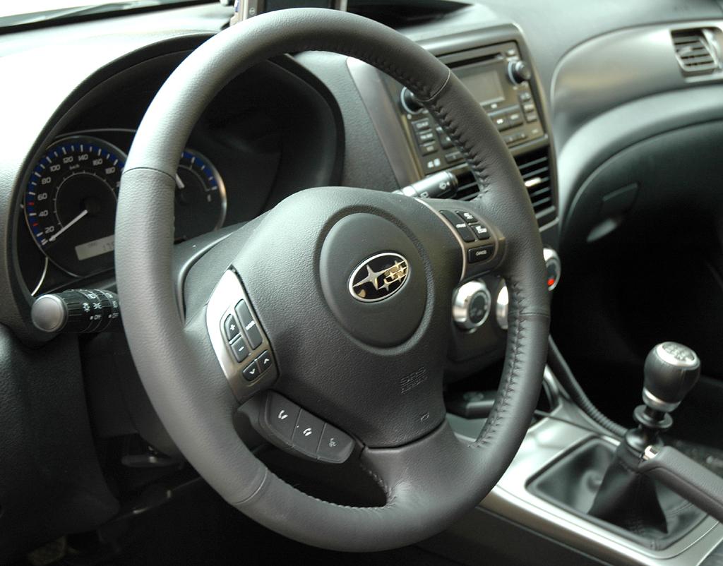 Subaru Impreza XV: Blick ins Cockpit.